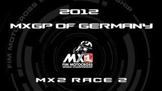 2012 MXGP of Germany - FULL MX2 Race 2 - Motocross