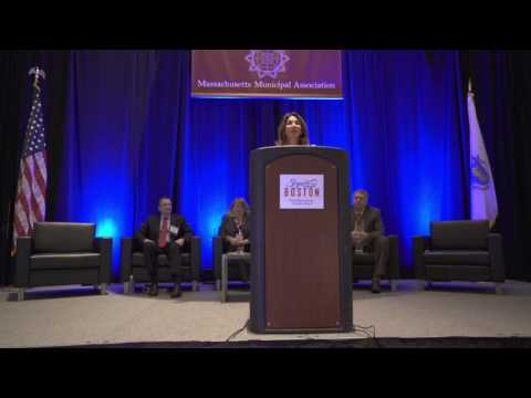 Lt. Governor Polito speaks about state investments in cities & towns at MMA Annual Meeting