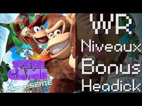 Speed Game Hors-série: Donkey Kong Country Tropical Freeze, Selection de records du monde.