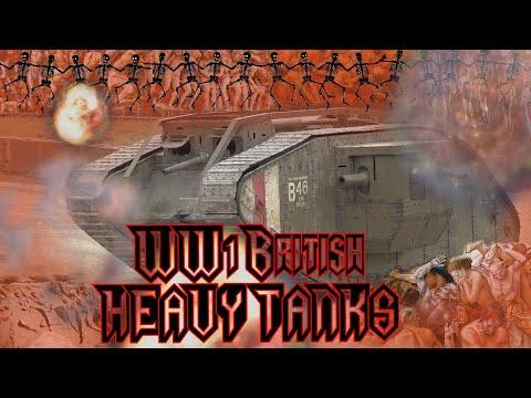 British Heavy Tanks of World War One