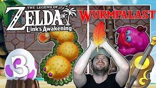 THE LEGEND OF ZELDA LINK'S AWAKENING 🗡️ #3: Gegen Rolling Bones & Moldorm im Wurmpalast
