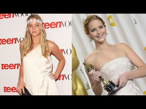 Jennifer Lawrence's Journey From Small-Town Girl to Oscars Darling