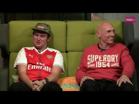 Arsenal vs. Spurs fan Debate | Football FANTV