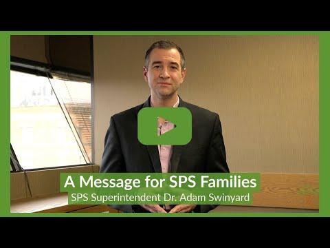 Superintendent's Message to SPS Families - Dec. 18, 2020