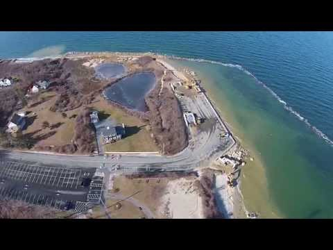 Seaside Park and Corporation Beach FROM ABOVE