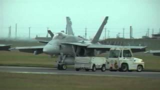 F18・驚異・眼前の時速1200km超・秒速340m・岩国フレンドシップデ-
