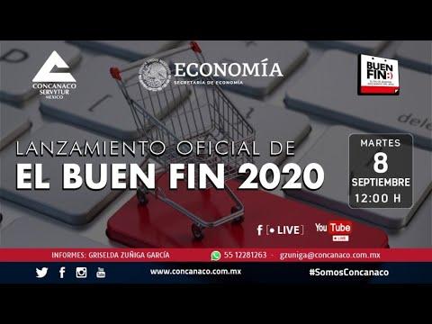 Lanzamiento Oficial de El Buen Fin 2020