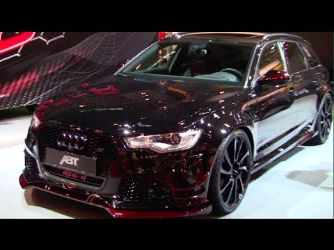 Glitter Painted Audi Rs6 R By Abt
