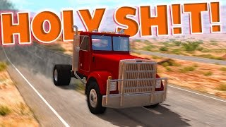 FASTEST SEMI EVER! (OVER 400MPH) - BeamNG Drive Drag T - Series Crash Testing