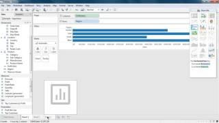 Learn how to create worksheet in tableau desktop.