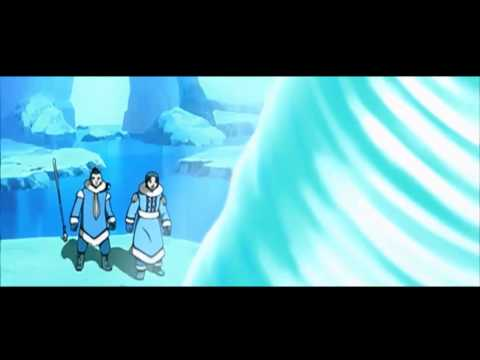 Avatar Aang Discovered Full Scene HD
