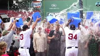 Red Sox front office completes Ice Bucket Challenge