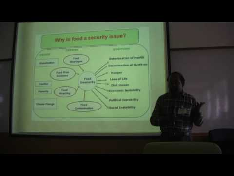 Ethics of Biotechnology ad Food Security - Prof. Dr. Mariodoss Selvanayagam, Ph.D., AUSN