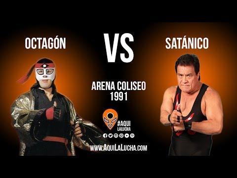 Octagón vs Satánico, mano a mano. Aquí La Lucha