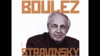 Boulez conducts Stravinsky - Ebony concerto