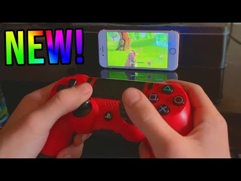 HOW TO PLAY PS4 ON IPAD/IPHONE WITH CONTROLLER!FREE EASY METHOD - PS4 REMOTE PLAY(PLAY PS4 ON PHONE)