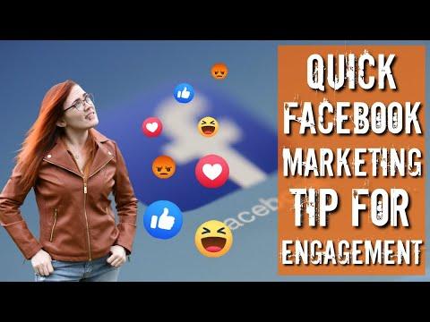 Quick Facebook Marketing Tip for more Engagement – Etsy Seller Tips