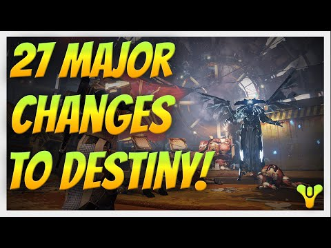 Destiny - 27 Major Changes to Destiny in The Taken King. The most important things to know.