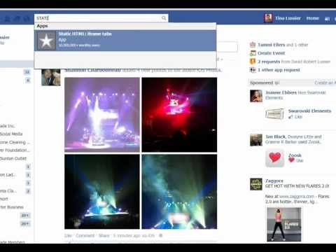 How to create custom tabs on your Facebook Page