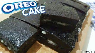 RESEP OREO CAKE DUA BAHAN