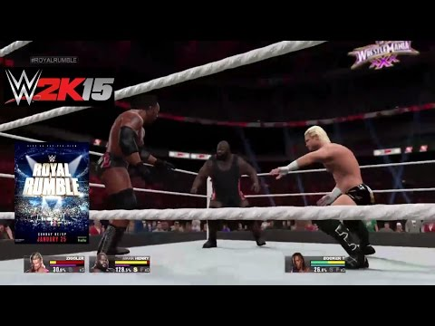 WWE Royal Rumble 2015 Full Match Prediction GAMEPLAY WWE 2K15