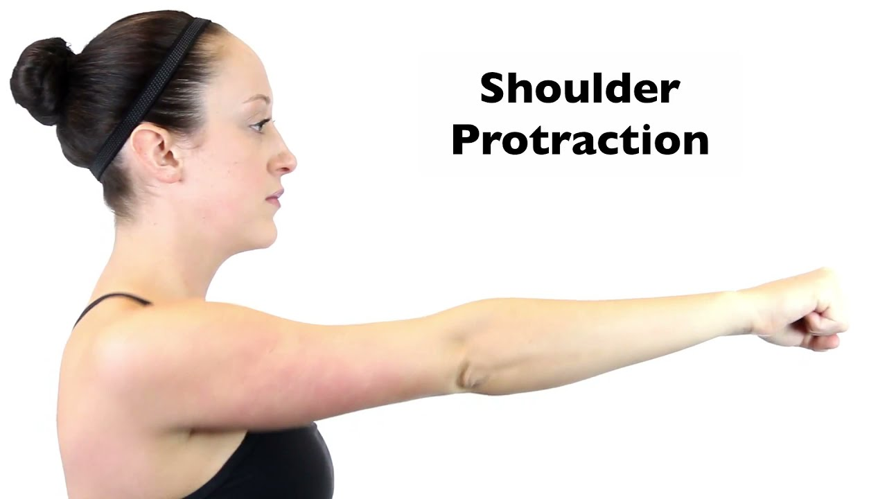Shoulder Protraction - YouTube