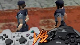 PlayStation Vs Sega Saturn - Resident Evil