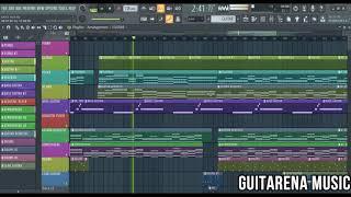 Kaise Hua - Kabir Singh [FL Studio Instrumental with Free FLP] / Guitarena Music
