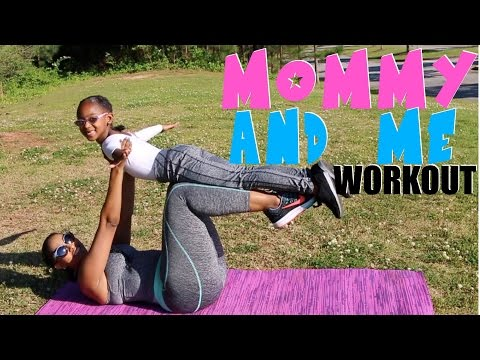 MOMMY AND ME WORKOUT! | FUN WORKOUT FOR KIDS AND PARENTS | KJ TAKEOVER