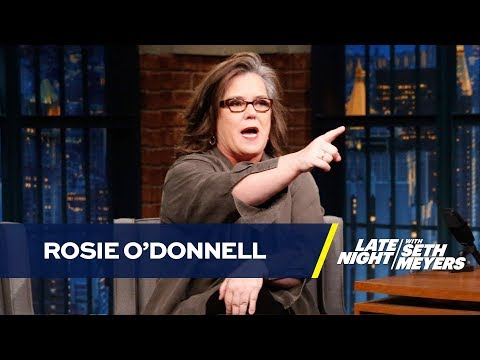 Rosie ODonnell Tells the Origin Story of Her Feud with Donald Trump
