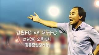 2012 K리그 36R 강원FC vs 대구FC 홈경기 안내