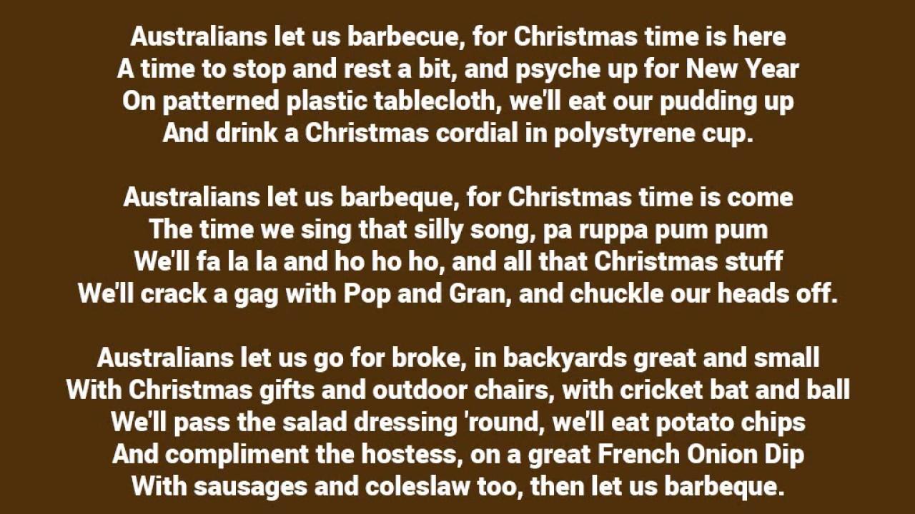 Christmas Carols - Christmas in Australia