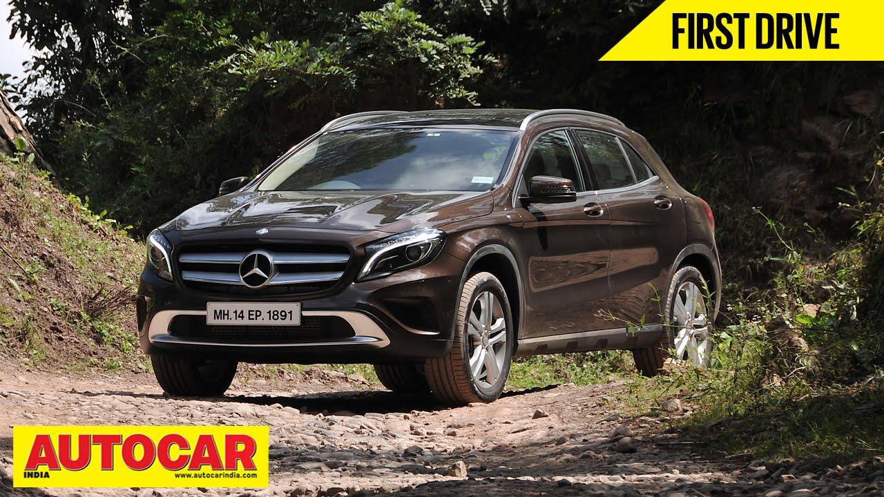 Mercedes Benz Gla 200 Cdi First Drive Video Review Autocar India