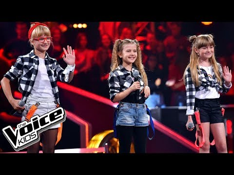 "Kotlarska, Janik, Zawadzka ""Girlfriend"" – Bitwy – The Voice Kids Poland"
