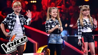 "Kotlarska, Janik, Zawadzka ""Girlfriend"" – Bitwy – The Voice Kids"