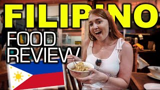 Foreigner Reaction To FILIPINO FOOD!