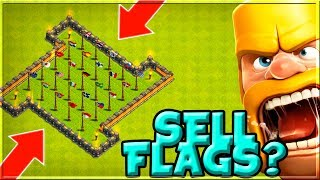 I HAVE ALL FLAGS IN COC - SHOULD I SELL THEM? - Clash of Clans