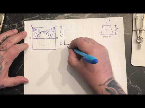 Basic square to round triangulation