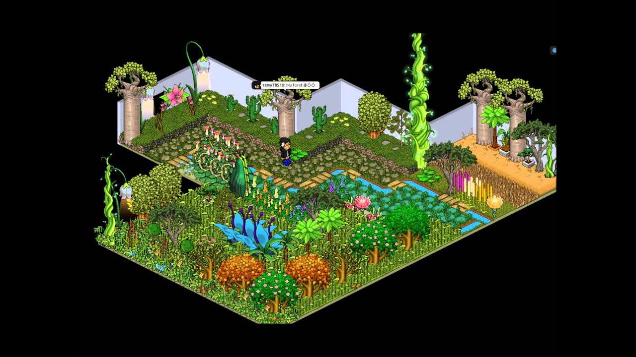 Habbo secret apparte 1 youtube - Jardin romantique habbo toulon ...