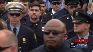 Hundreds of firefighters salute SAFD fallen firefighter Scott Deem