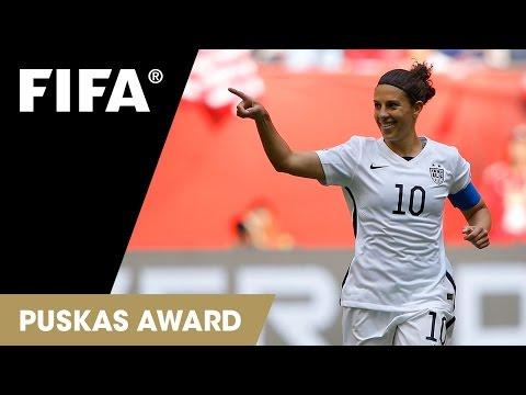 Carli Lloyd Goal: FIFA Puskas Award 2015 Nominee