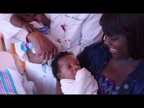 NICU Cares for Premature Twins at Joe DiMaggio Children's Hospital