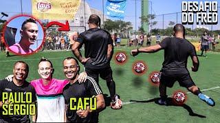 Desafio da Champions - Cafú x Paulo Sérgio!