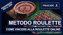 Metodo Roulette Aggiornato - Come vincere alla roulette online €240 all'ora