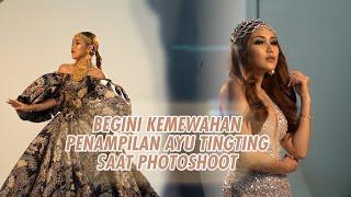 ROAD TO KONSER SUARA HATI AYU TINGTING - INTIP GAYA GLAMOUR AYU TINGTING SAAT PHOTOSHOOT