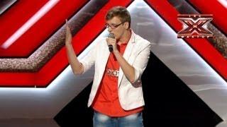 Дмитрий Волошин - Bad Romance - Lady Gaga - Кастинг в Одессе - Х-Фактор 3 - 1.09.2012