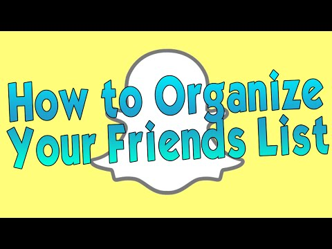 how to delete contacts in snapchat