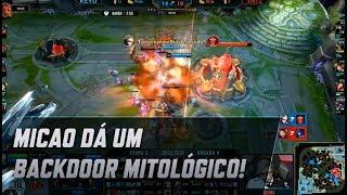 CBLoL 2019 - micaO dá um backdoor mitológico!