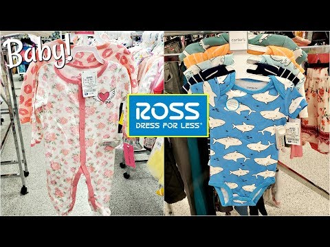 Shopping At Ross Dress For Less BABY DEPARTMENT 2020