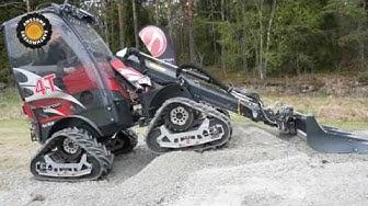 Norcar 4T quad track loader demonstration